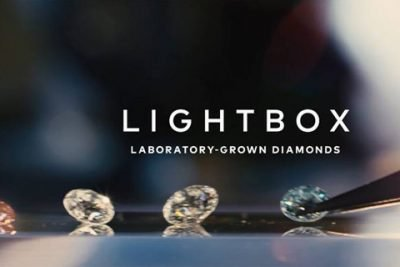 diamants de laboratoire lightbox