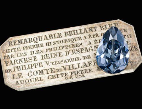 Farnese Blue – un diamant bleu auparavant inconnu bientôt aux enchères