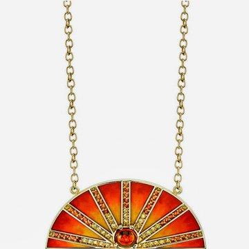 Necklace Sun Andrea Fohrman