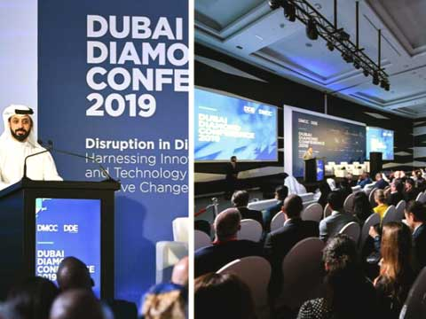 disruption production de diamants Dubai