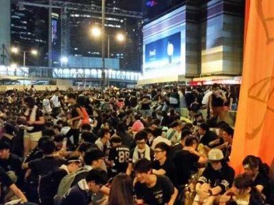 Hong Kong troubles sociaux