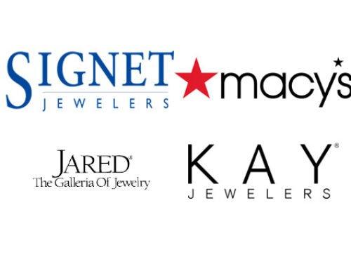 Signet et Macy's rapportent des meilleures ventes de bijoux