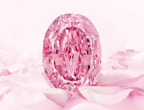 Diamant rose pourpre rarissime – The Spirit of the Rose – vendu pour un montant record