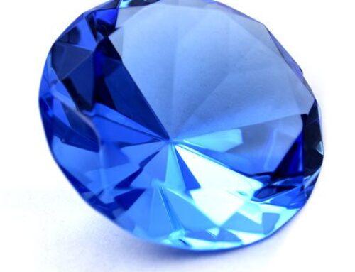 Saphir vainqueur d'une enquête sur les pierres précieuses de couleur